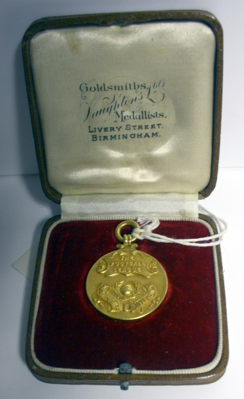 Warneford Cresswell Everton Division One Champions Medal 1931/2